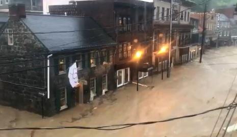 Gubernur Maryland Tetapkan Keadaan Darurat Setelah Bencana Banjir