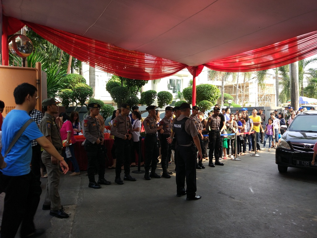 Perayaan Waisak di Jakarta Dijaga Ketat