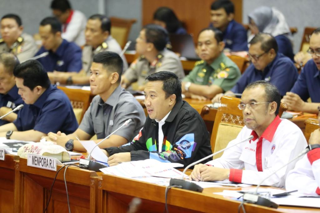 Kemenpora Laporkan Persiapan Asian Games dan Asian Para Games ke DPR