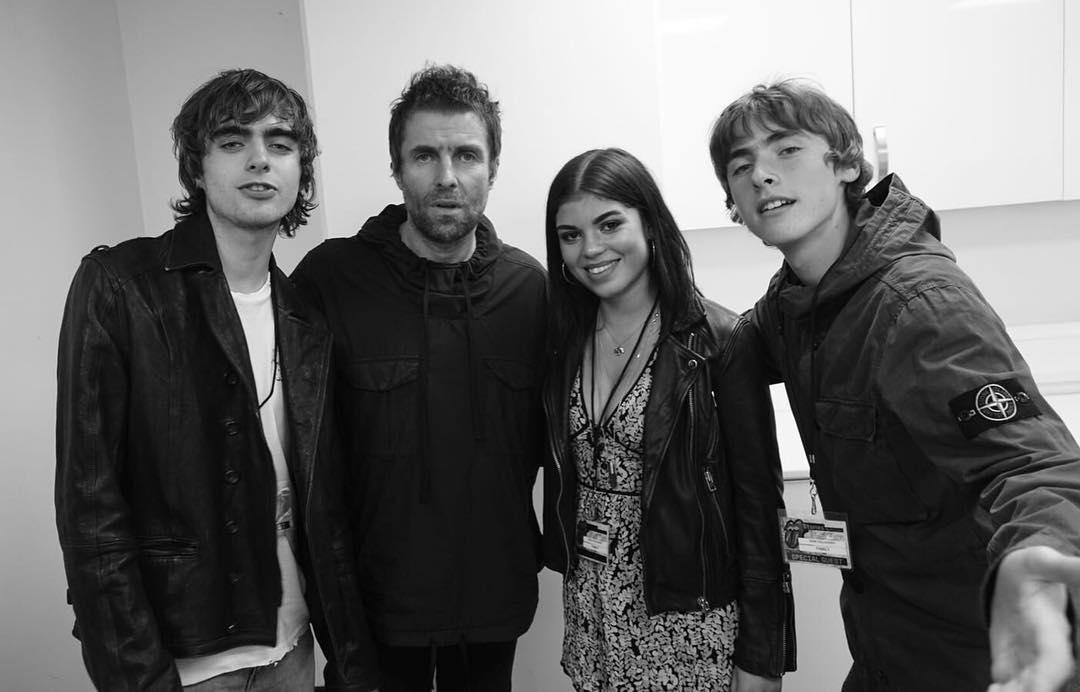 Liam Gallagher Ungkap Kesan Pertemuan Pertama dengan Anaknya