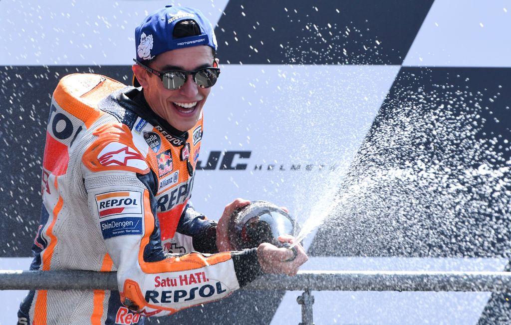 Unggul Raihan Poin, Marquez Tetap Membumi Sambut GP Italia