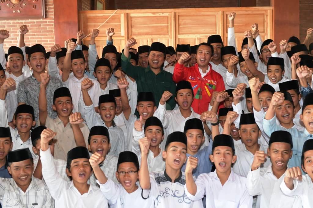 Menpora Berharap Santri Ikut Sukseskan Asian Games