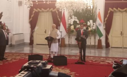 Jokowi Ajak India Berinvestasi di Infrastruktur