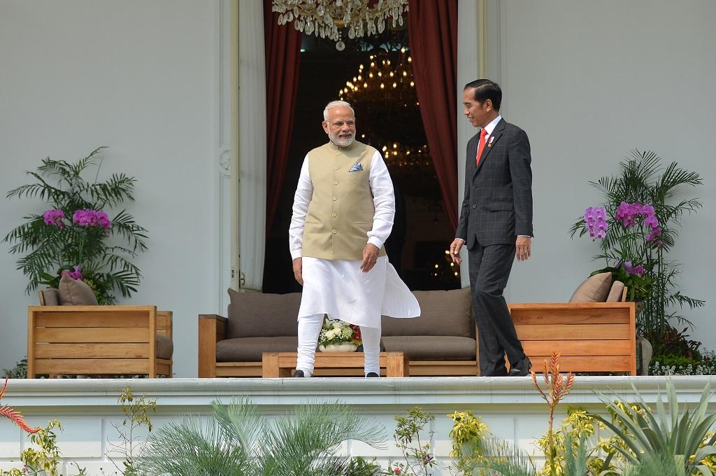 Jokowi dan Modi Diskusikan Visi Bersama Indo-Pasifik