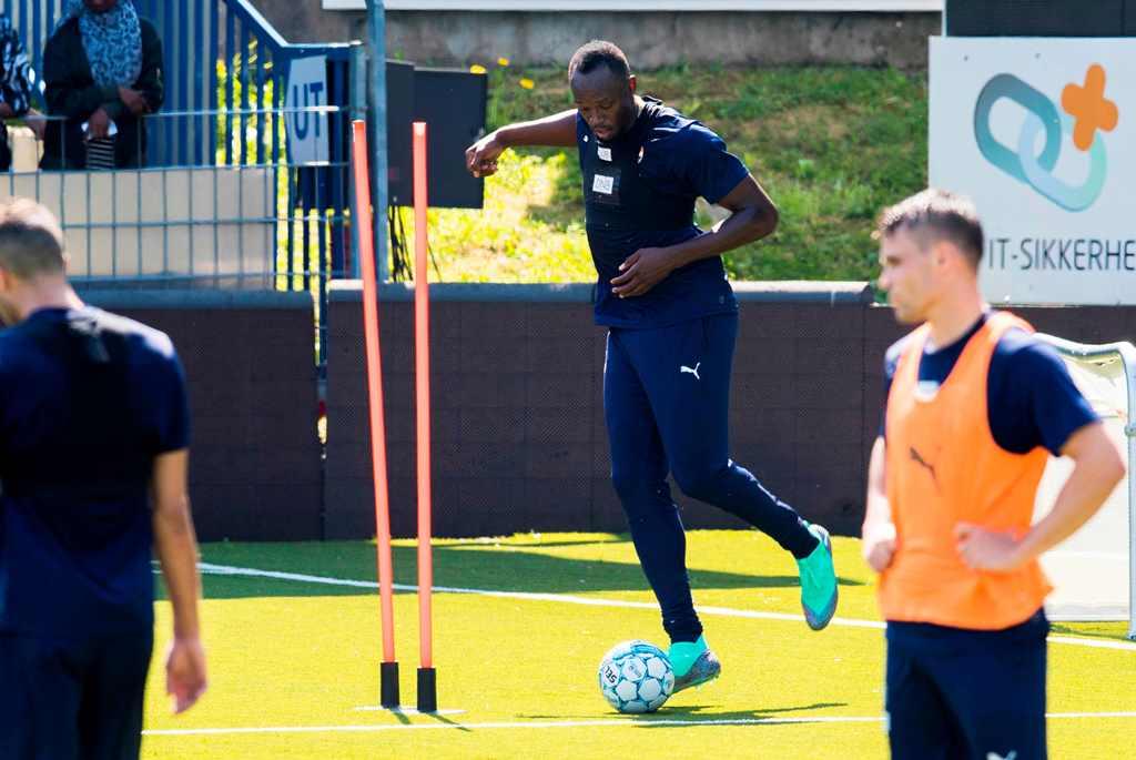 Usain Bolt Berlatih di Klub Norwegia