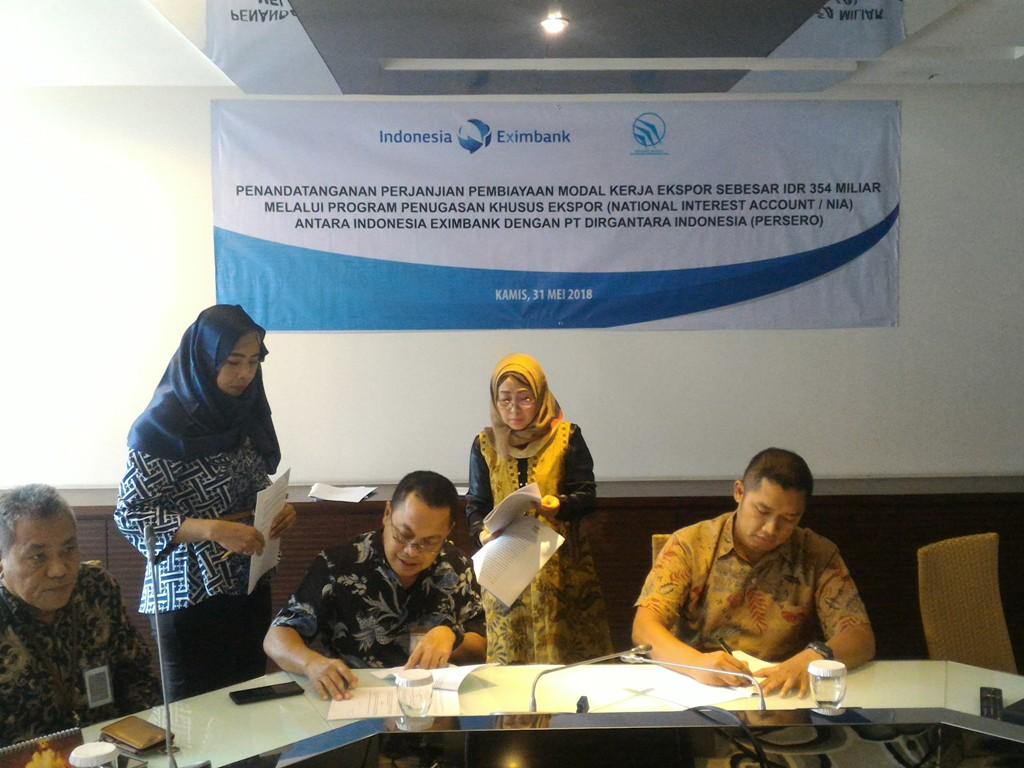 Indonesia Eximbank Fasilitasi Ekspor Pesawat ke Nepal dan Senegal