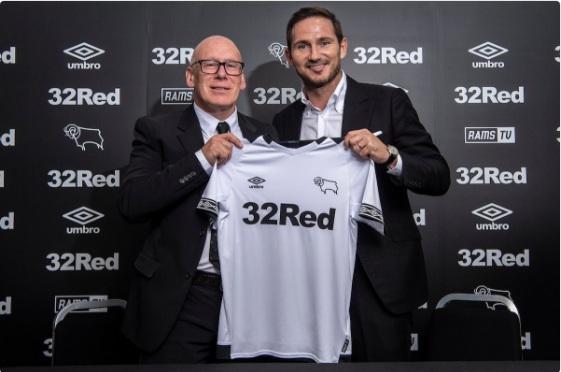 Derby County, Klub Pertama yang Dilatih Lampard
