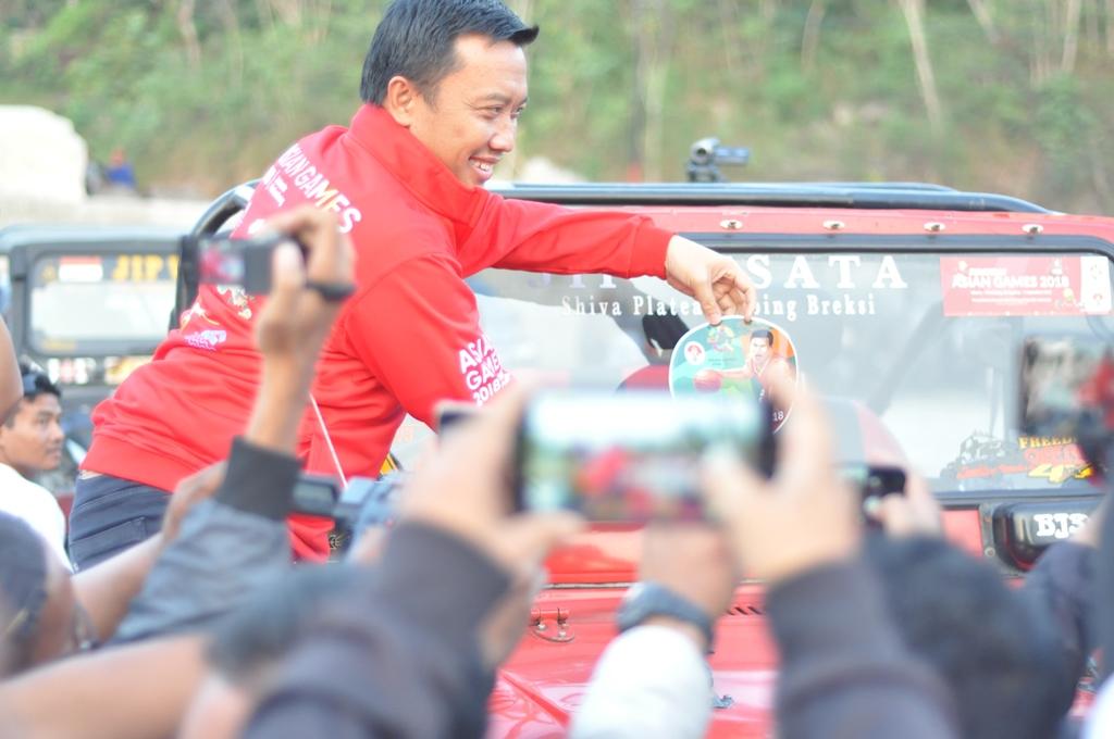 Menpora Berharap Promosi Asian Games Lebih Gencar Lagi