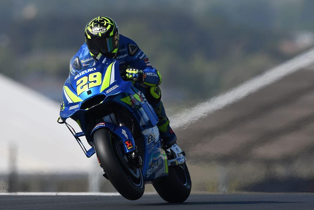 Andrea Iannone Tercepat pada FP1 MotoGP Italia
