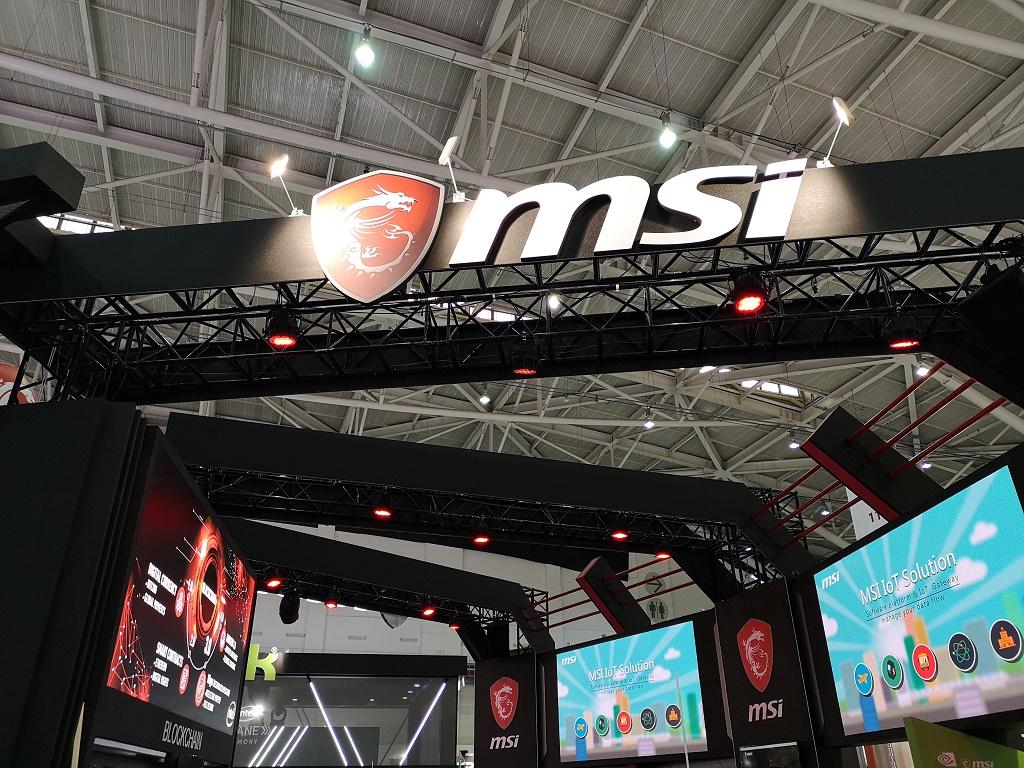 Tren Gaming Sampai Uang Kripto Jadi Topik MSI di Computex 2018