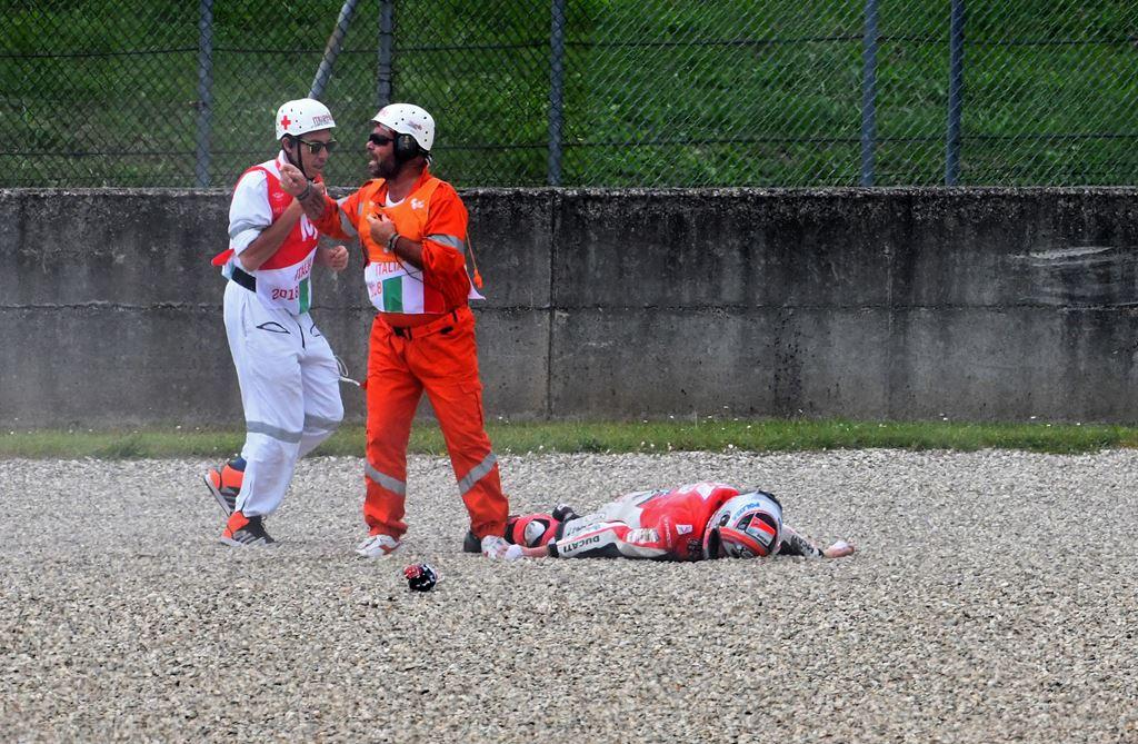 Kondisi Michele Pirro setelah Kecelakaan Parah di FP2