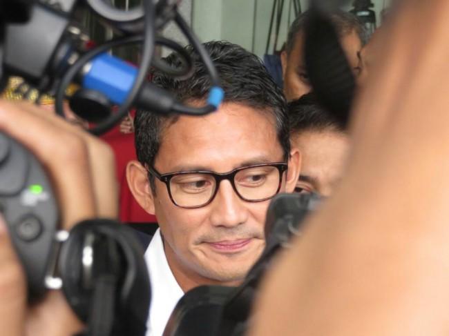 Sandiaga Posisikan Diri Sebagai Politikus Saat Kritik Jokowi