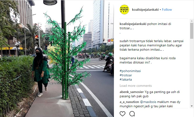 Pemprov DKI Cari Lokasi Lain untuk Pasang Pohon Hias