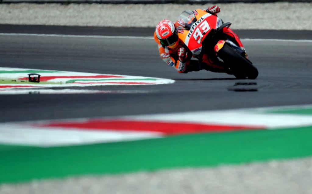 Marquez Patahkan Dominasi Iannone di Sesi Latihan Bebas MotoGP Italia