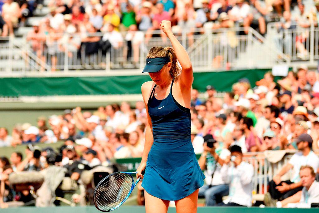 Sharapova Dihantui Rekor Buruk jelang Hadapi Serena
