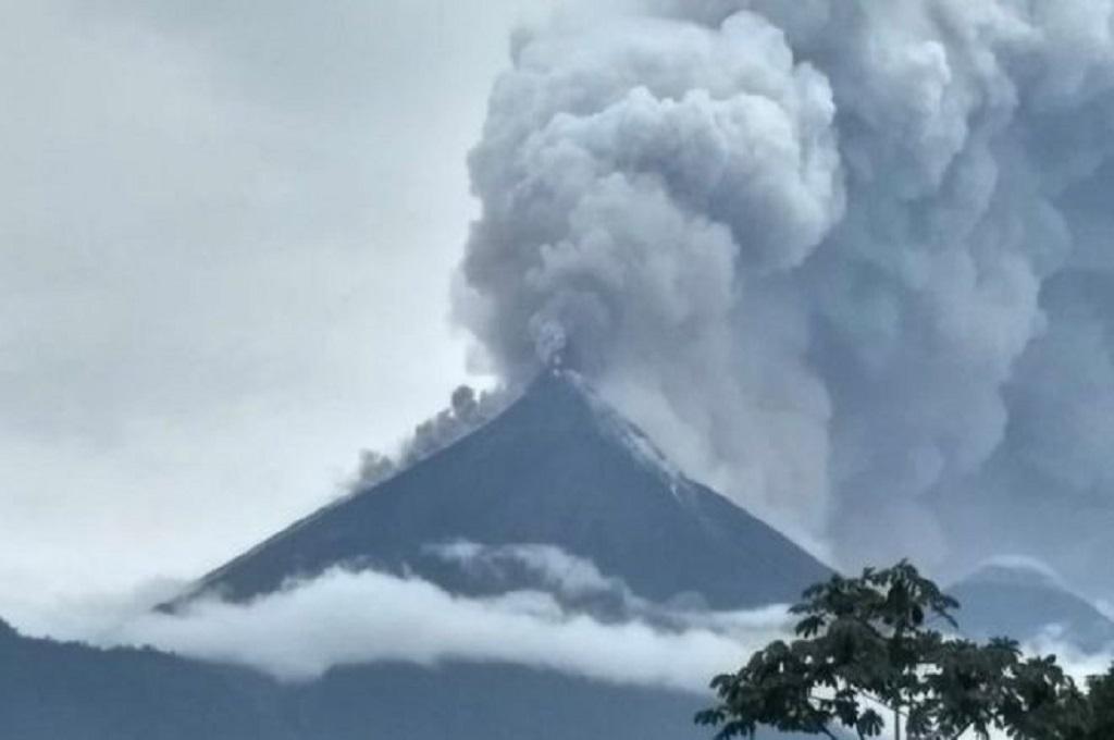 Erupsi Gunung di Guatemala Tewaskan Tujuh Orang