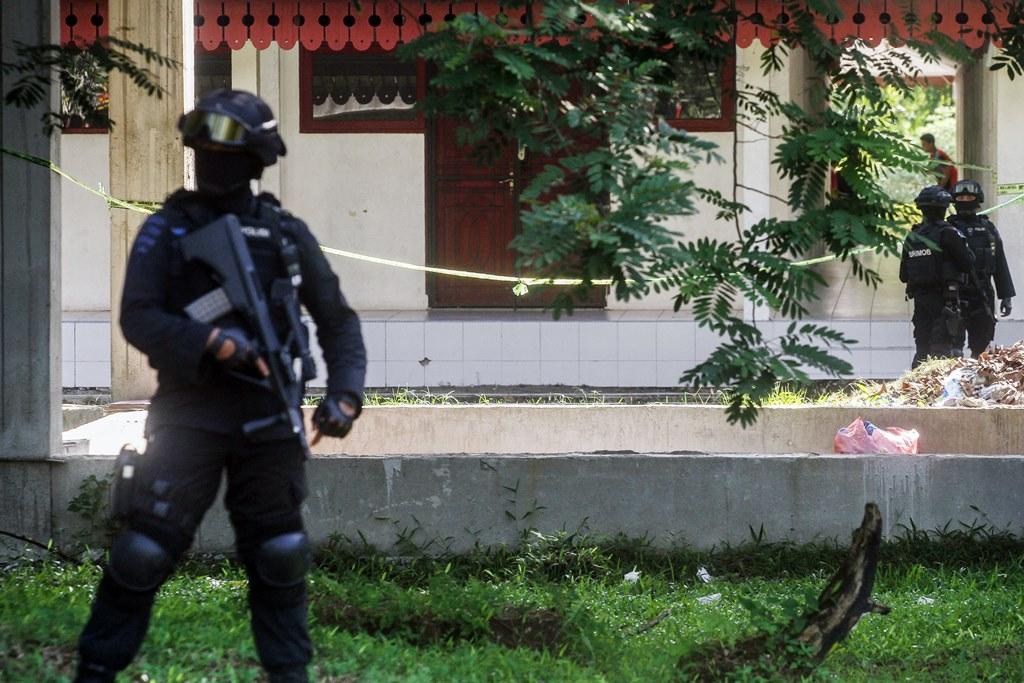 Universitas Riau, Kasus 'Safe House' Pertama Terorisme