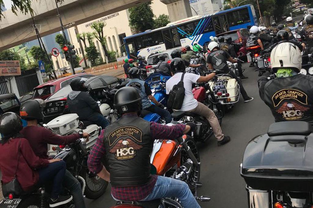 Beramal dan Buka Bersama ala HOG Anak Elang Jakarta