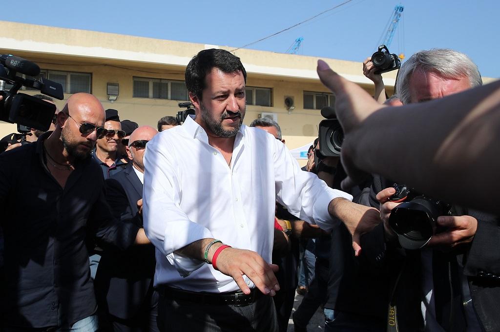 Mendagri Salvini Geram Italia Dianggap Penampung Imigran
