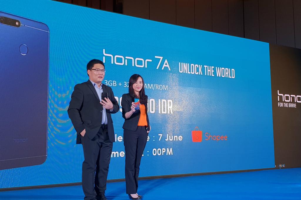 Honor 7A Sapa Konsumen Indonesia via Shopee