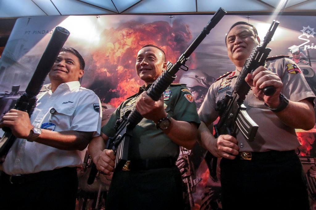 KASAD Sebut Banyak Negara Minati Senjata Buatan Pindad