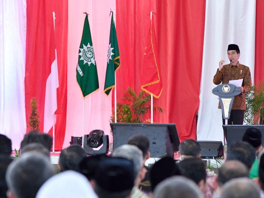 Jokowi Mau UIII Jadi Pusat Kemajuan Peradaban Islam