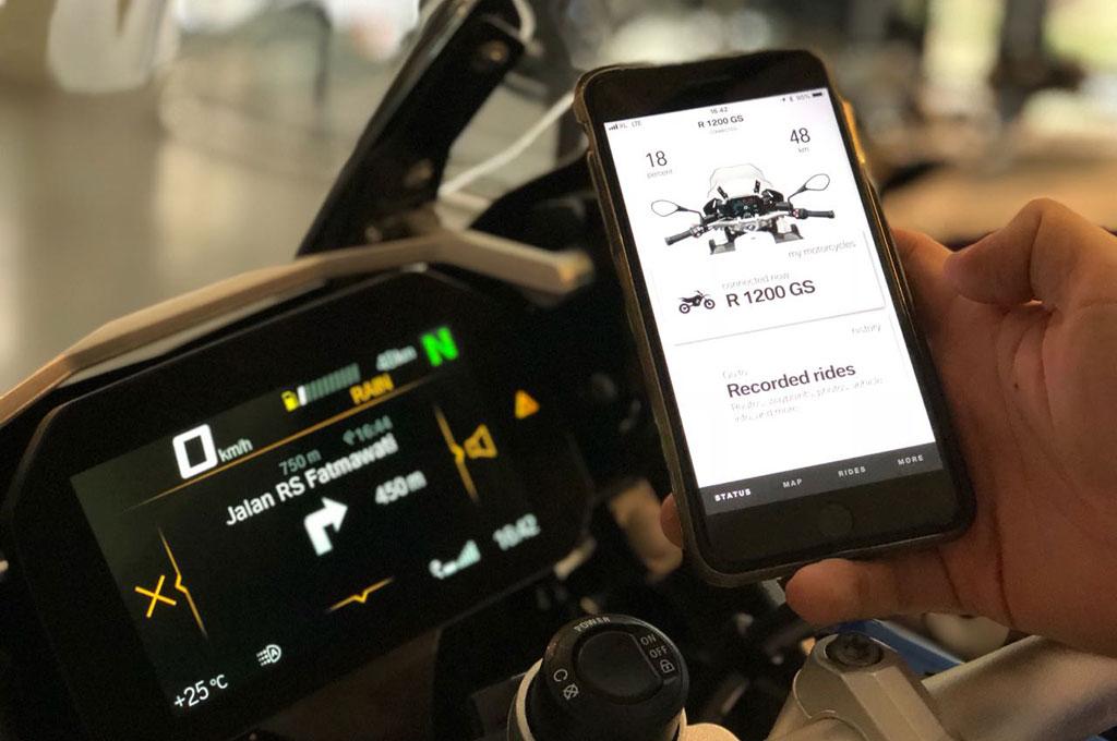 BMW Motorrad Connectivity Kini Melekat di R 1200 GS