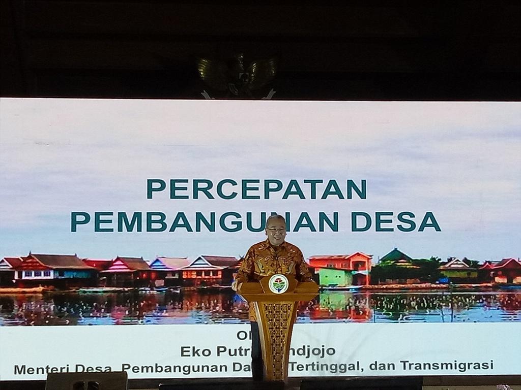 Mendes Sebut Jokowi Komitmen Dalam Pembangunan Desa
