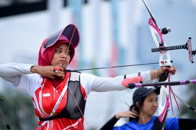 Pemanah Putri Diananda <i>Pede</i> Tatap Asian Games 2018