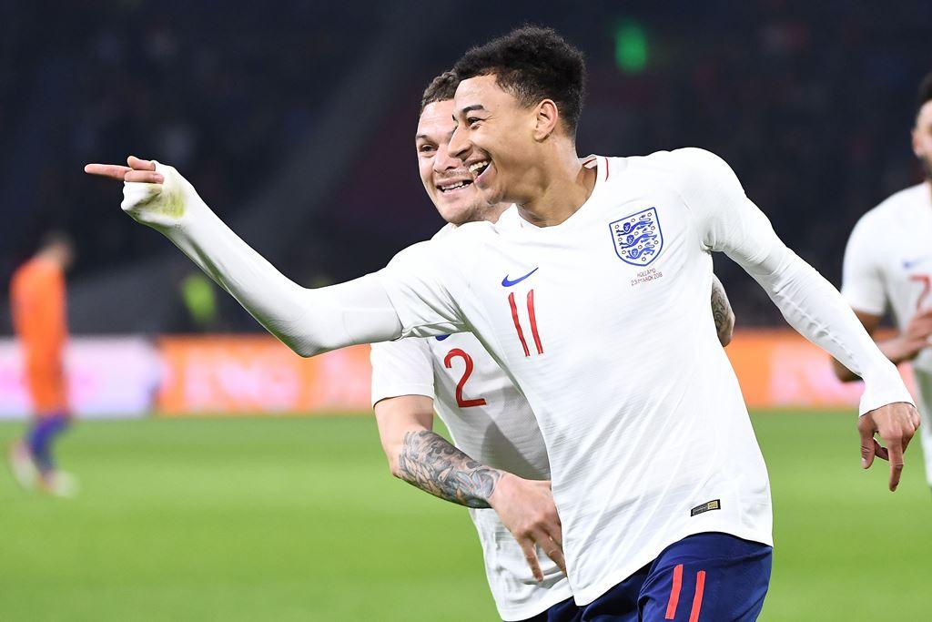 Jika Cetak Gol di Final Piala Dunia, Lingard Siapkan Selebrasi Unik