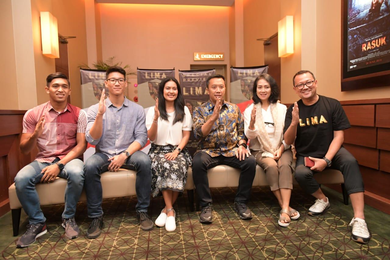 Menpora Berharap Film Lima Memotivasi Atlet Indonesia
