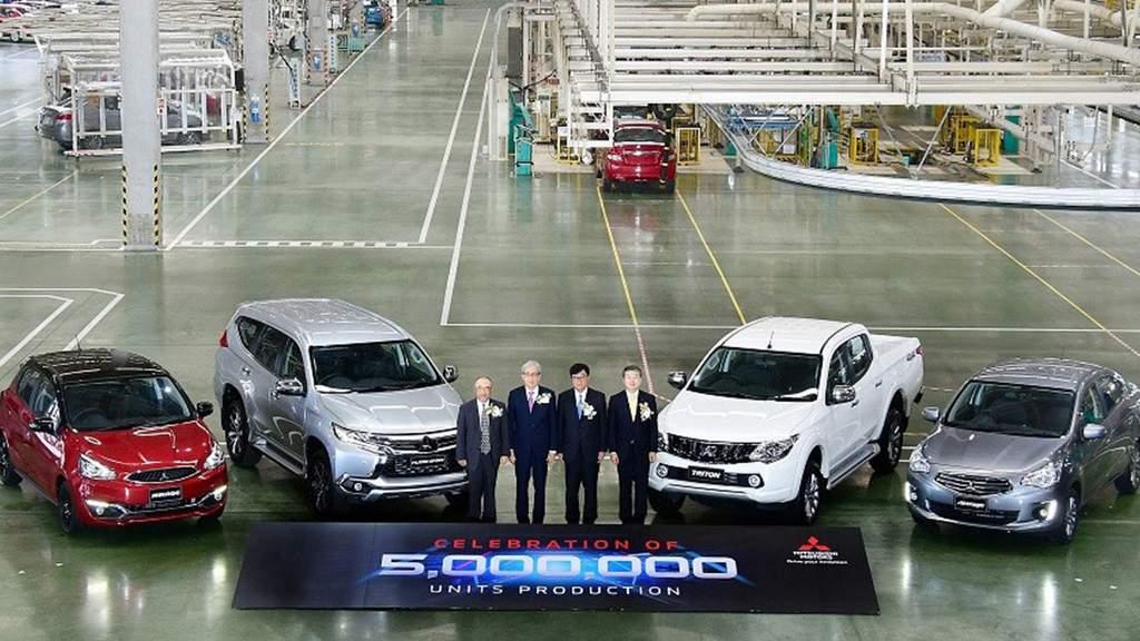 Mitsubishi Thailand Sukses Lahirkan 5 Juta Mobil