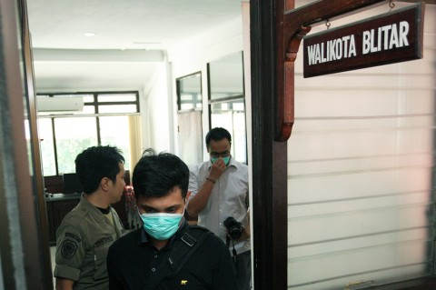 KPK Segel Ruang Kepala dan Sekretaris Dinas PUPR Pemkot Blitar