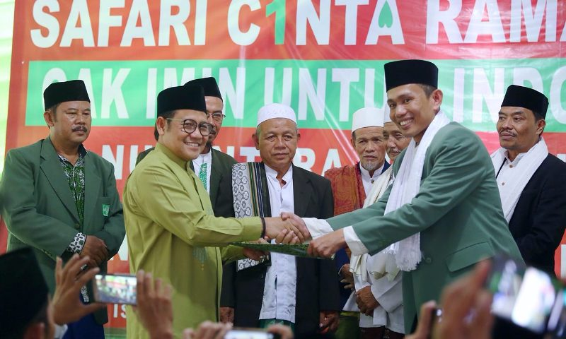Majelis Ulama se-Bogor Dukung Muhaimin jadi Cawapres Jokowi