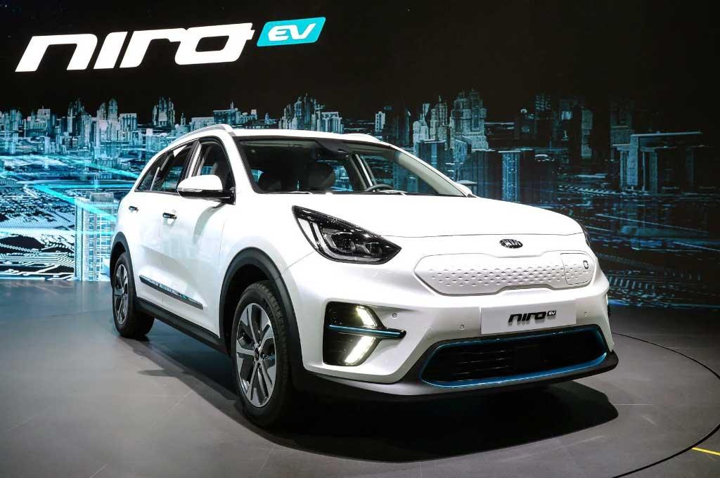 Mobil Listrik Kia Niro EV Show-off di Busan Motor Show