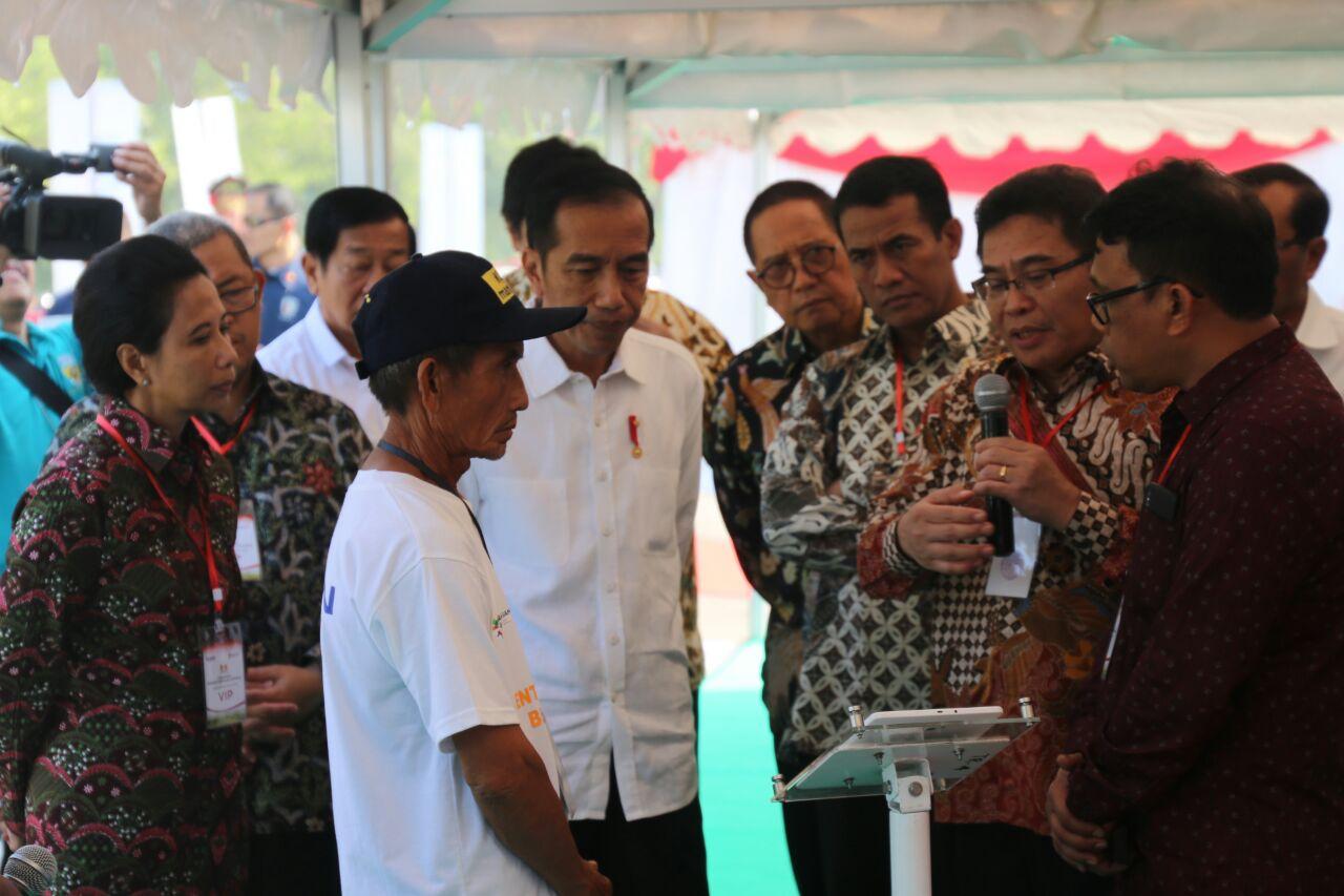 Presiden Resmikan Kewirausahaan dan Digitalisasi Pertanian di Kabupaten Indramayu