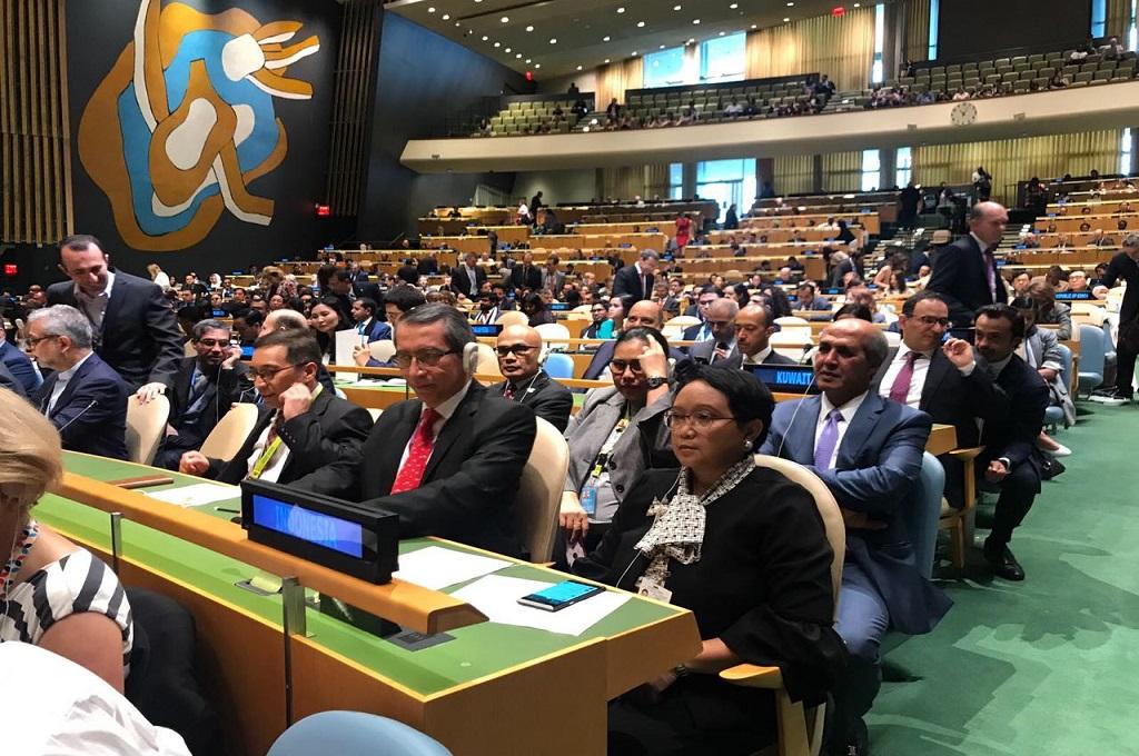 Bersandingnya Islam dan Demokrasi Jadi Faktor Terpilihnya RI di DK PBB