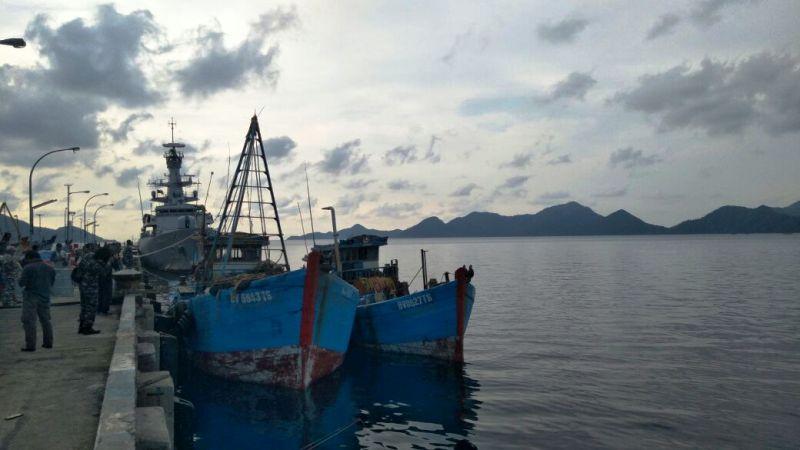 2 Kapal Vietnam Ditangkap di Natuna