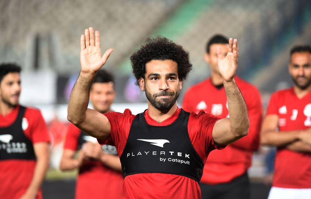 Kembali Latihan, Mo Salah Belum Pasti Lawan Uruguay