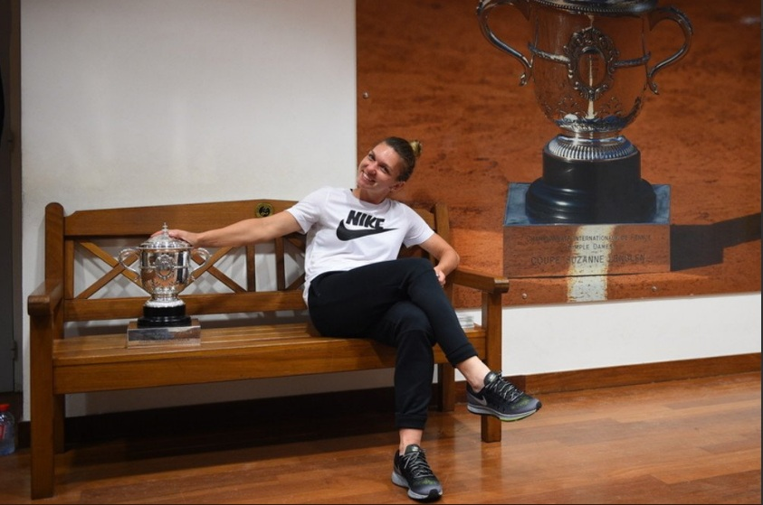 Juara French Open, Simona Halep Terinsipirasi Legenda Tenis Rumania