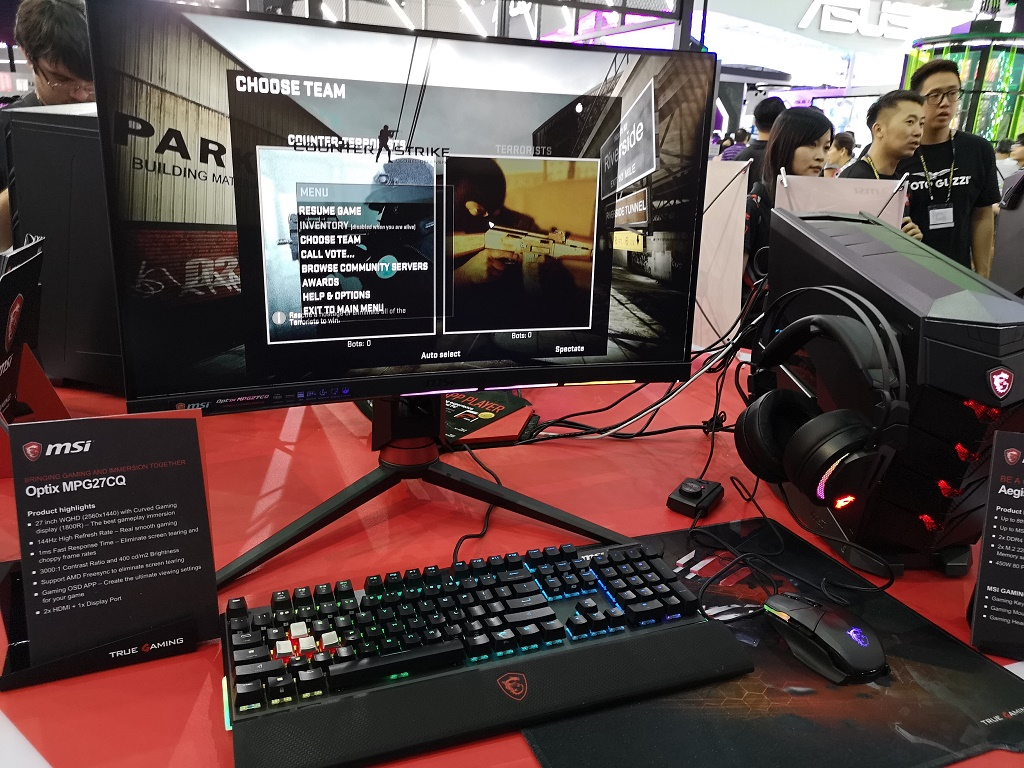 Strategi MSI dari Monitor dan PC Gaming di Computex 2018