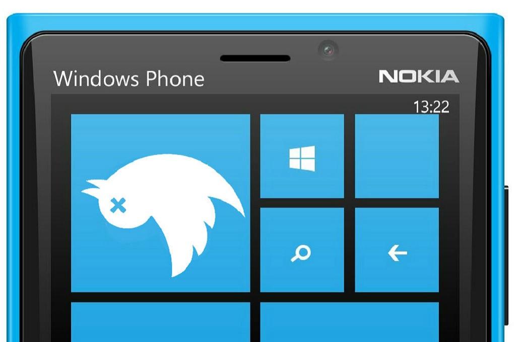 Aplikasi Twitter Tinggalkan Windows Phone 8.1