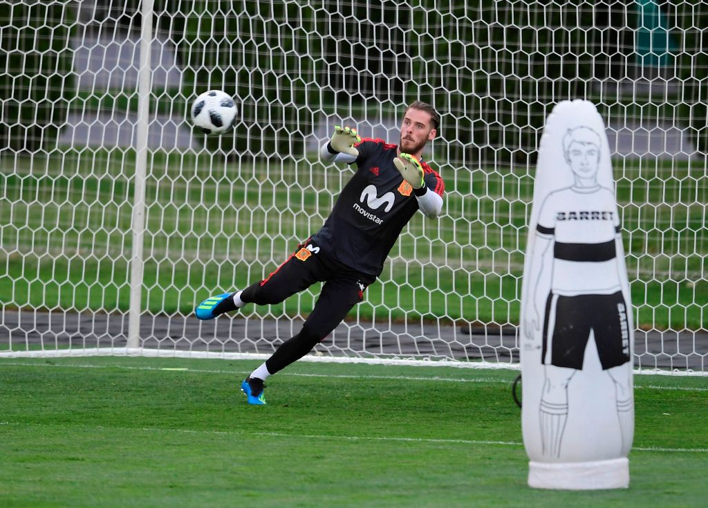Kembali Dikaitkan dengan Madrid, De Gea Fokus ke Piala Dunia