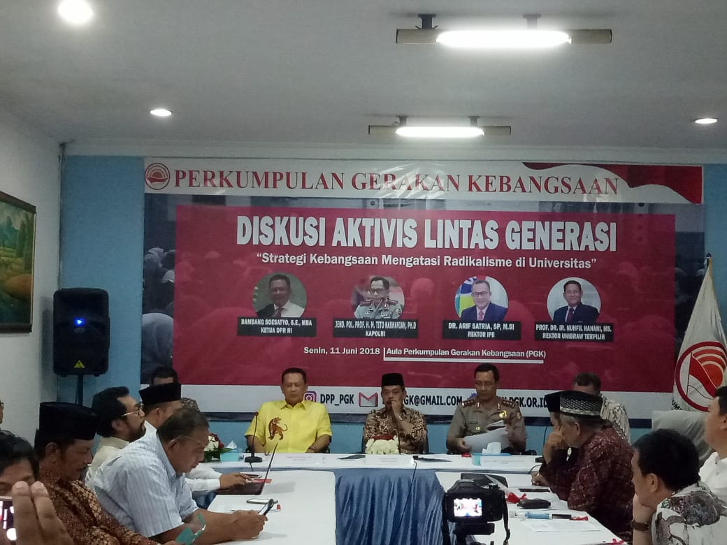 Antisipasi Dini Radikalisme, IPB Asramakan Mahasiswa