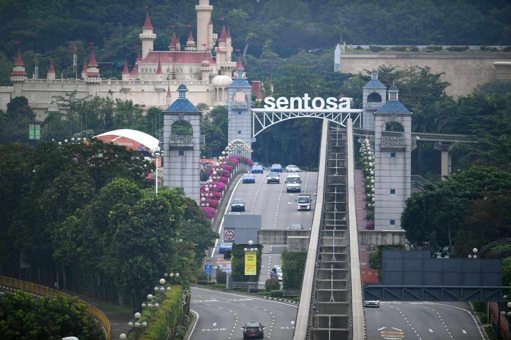 KTT AS-Korut, Sejumlah Jalan Singapura Ditutup