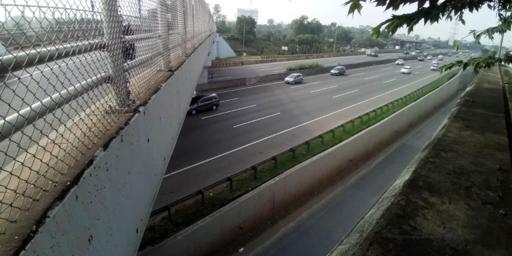 Polisi Periksa Saksi Pelemparan Batu di Tol Jagorawi