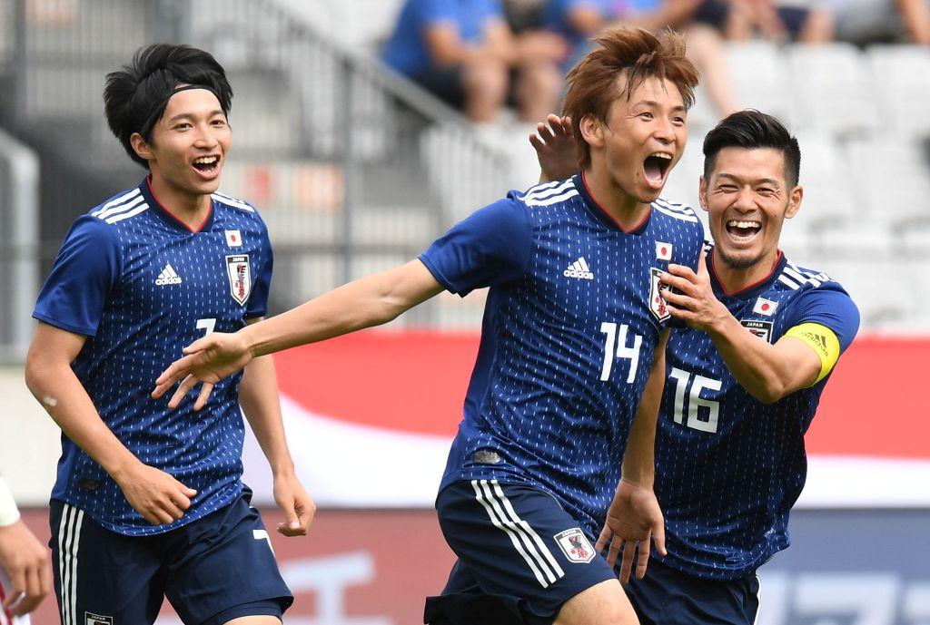Timnas Jepang Tutup Laga Uji Coba dengan Kemenangan
