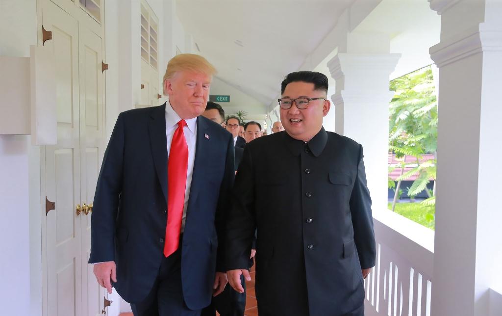 Presiden Korsel: Kesepakatan Trump-Kim Akhiri Perang Dingin