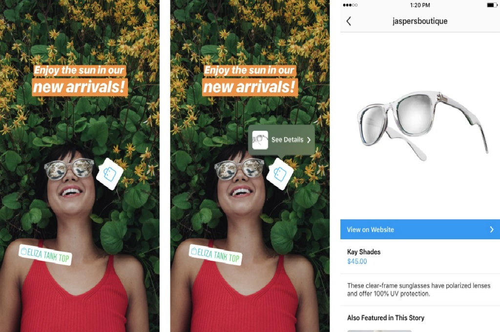 Pengguna Instagram Bisa Belanja via Stories