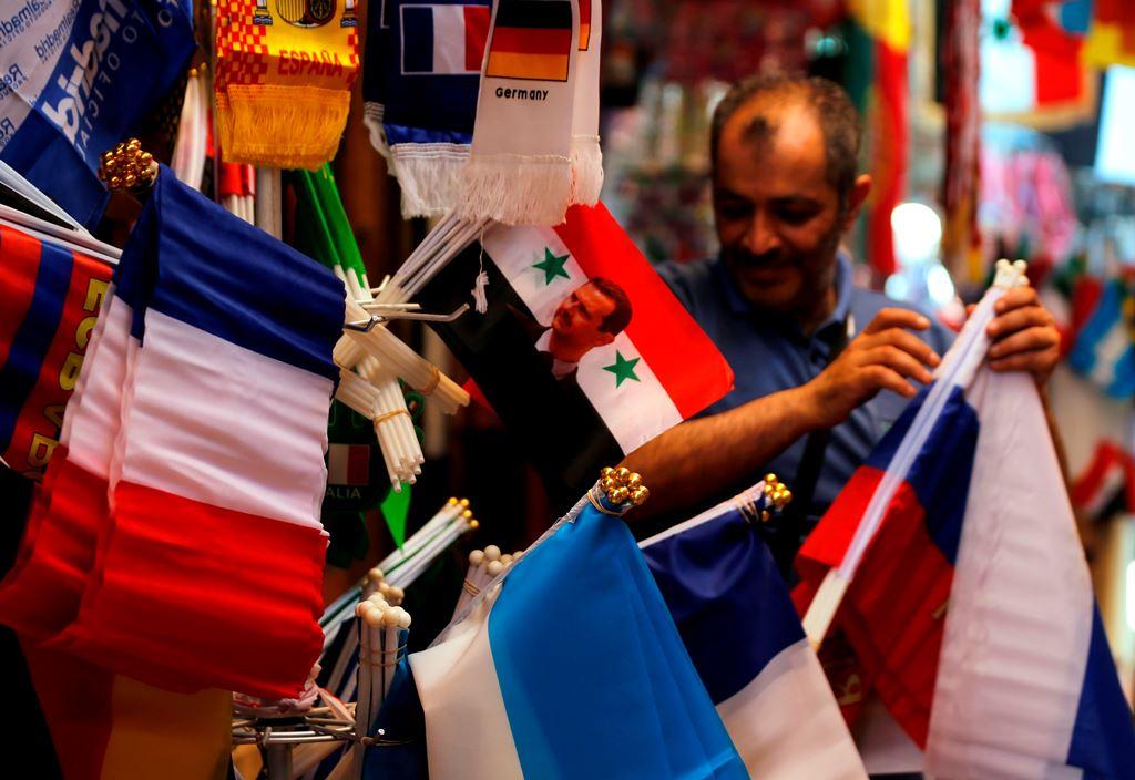 Menengok Euforia Piala Dunia di Suriah